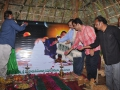 5-12-18 న బుధవారం బావురువాక గ్రామంలో  పరబ్రహ్మ శ్రీ మోహియద్దీన్ బాద్షా సద్గురువార్యల జీకేర్ మందిరమును పీఠాధిపతి డా.ఉమర్ ఆలీషా స్వామి ఆవిష్కరించారు మరియు సోదరులు అహ్మద్ ఆలీషా, మెహబూబ్ పాషా, హుస్సేన్ షా, షెహన్ షా గార్లు పాల్గొన్నారు.