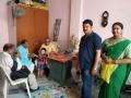 Gorakhpur Mayor Sitaram Jaiswal garu at Smt Ramya Sudha gari home