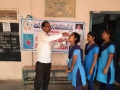 Distribution of corona virus preventive medicine at Gollaprolu ZPHS