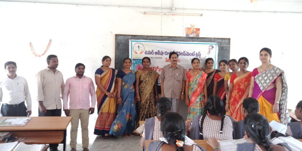 Coronavirus preventive medicine distributed by UARDT at S.K.S.D Mahila Kalasala(Jr), Tanuku, West Godavari District on 24-Feb-2020