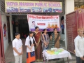 Coronavirus preventive medicine distributed by UARDT at Vidya Mandir Public School, Gorakhpur, Uttar Pradesh on 08-March-2020