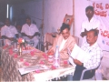 In a Umar Alisha AksharaJyothi Programme held on 1-Mar-2000 at Nagulapalli village of East Godavari District Sri.Apparao.,DRO while examining the AksharaJyothi reports.