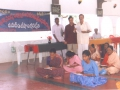 In a Umar Alisha AksharaJyothi Programme held on 4-Sep-2000 at Pithapuram the Chairman UARDT while evaluating the literates along with local M.L.A