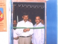 In A Umar Alisha AksharaJyothi Programme held on 28-Aug-1998 at Ramanakkapeta village of U.Kothapalli Mandal of East Godavari District the Chairman UARDT Dr.UmarAlisha along with District Collector Sri.Satish Chandra.,I.A.S while inaugurating a continuous education center.