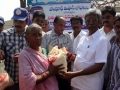 Pydikondala Manikyala Rao ( Endowments Minister)  has participated in rice distribution by UARDT volunteers