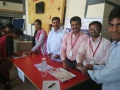 FREE SWINE FLU PREVENTIVE HOMOEO MEDICINE DISTRIBUTION CAMP AT Tech Mahindra, VISAKHAPATNAM