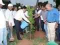 Andhra University Vice-Chancellor G.S.N. Raju has launched the tree plantation at Andhra University Campus. The convener of the UARDT Dr.Ananda Kumar Pingali, AU Registrar Prof V Uma Maheswara rao and AU staff has participated.