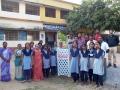 Plantation at Chitrada School