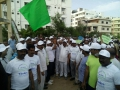 Save water save trees event at Panchavathi colony, Manikonda