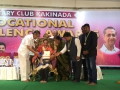 Rotary Excellence Award to Dr Umar Alisha by Rotary Club Kakinada at Surya Kalamandiram, Kakinada on 2nd October 2017