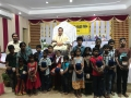 Blankets distribution to orphan children in Karthikamasam  , Hyderabad tour