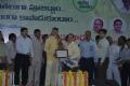 UARDT chairman Dr.Umar Alisha receives certificate from Sri N.Chandra Babu Naidu, Honorable Chief minster of Andhra Pradesh
