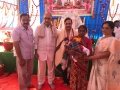 Rice distribution to poor old age people at Disciples attended at Bheemili Ashram on 16th Anniversary Sabha