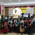 Blankets-distribution-to-blind-children-in-Karthikamasam-Hyderabad-tour
