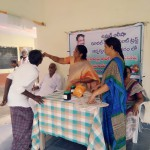 On-19-09-2018-Umar-Alisha-Rural-Development-Trust-has-conducted-Homoeo-Camp-on-elimination-of-Dengue-in-School-premises-of-Rajavaram-village-of-Khammam-district.-Dr.-Anumolu-Pushpa-Kumari-and-the-trust-volunteers-have-contributed-their-services-in-the-camp