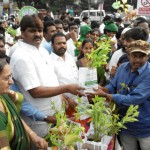 Telangana-State-Greater-Hyderabad-Municipal-Corporation-Mayor-Bonthu-Rammohan-Garu-distributing-the-free-plants-to-the-people-at-KBR-National-Park-through-our-Trust-UARDT.-Biodiversity-Director-also-participated-in-the-program