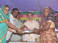 Distribution of Sarees to needed