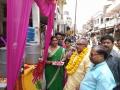 Chalivendram Opening by Gorakhpur Mayor Sitaram Jaiswal garu at Hajipur Main Bazaar, Uttar Pradesh