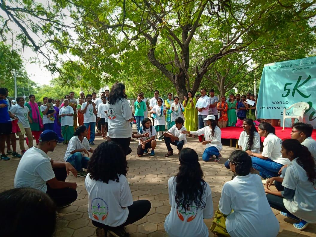 5 K run on World Environment Day in Hyderabad