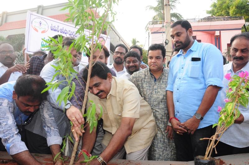 The plant is planting by Dr.Umar Alisha and Sri Pendem Dorababu M.L.A., Pithapuram (2)