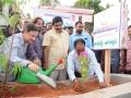 Peethadhipathi Dr.Uma Alisha planting the sapling (2)