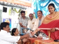 Distribution of plants on the occasion of  Vinayaka Chavithi Navarathrulu