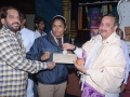 5000  Rupees  check for International Boxing champion Miss Aruna