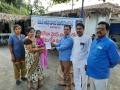 Distribution of Corona virus preventive medicines at Umar Alisha Public school