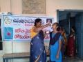 Distribution of corona virus preventive medicine at Gollaprolu ZPHS