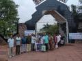 Distribution of coronavirus preventive medicine at Sivaji park visakhapatnam