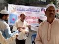 Coronavirus preventive medicine distributed by UARDT at Ghausia Masjid, Kotha Gajuwaka, Visakhapatnam on 14-Feb-2020