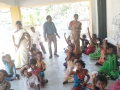 Distribution of coronavirus preventive homeo medicine at ZP Elementary School, Penumarthi on 15-Feb-2020