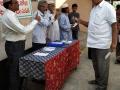 Coronavirus preventive medicine distributed by UARDT at BHPV, Masjid, Gajuwaka, Visakhapatnam on 21-Feb-2020