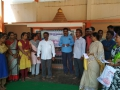 Coronavirus preventive medicine distributed by UARDT at Open School, Z.P.High School, APSP(Q), Kakinada on 23-Feb-2020