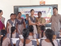 Coronavirus preventive medicine distributed by UARDT at S.K.S.D Mahila Kalasala(Jr), Tanuku, West Godavari District on 24-Feb-2020
