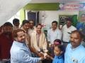 Water served by  Dr.Umar Alisha, Chairman of UARDT,  Abdhul Nabhi (Sub Inspector of Polic, Pithapuram), Ahamed Alisha, Kalil sha, Hussain sha  during inauguration of RO water plant at  R.R.BH.R GOVT HIGH SCHOOL, Pithapuram
