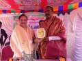 Memento to Mr. Ch. Pratap deputy transport commissioner