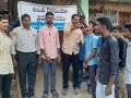Homeopathy preventive medicine distributed by UARDT at Municipal High School (O.B.S), Pithapuram on 04-March-2020