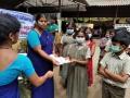 Coronavirus preventive medicine distributed by UARDT at Sri Shirdi Sai School, Tanuku on 06-March-2020