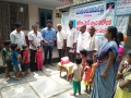 Coronavirus preventive medicine distributed by UARDT at Anganwadi, Ballipadu on 07-March-2020