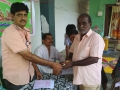 Coronavirus preventive medicine distributed by UARDT at Near Brahamam Temple, Eluru on 08-March-2020