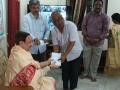 Coronavirus preventive medicine distributed by UARDT at Pingali Paradise, Visakhapatnam 08-March-2020