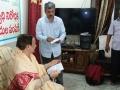 Coronavirus preventive medicine distributed by UARDT at Pingali Paradise, Visakhapatnam 08-March-2020