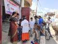 Coronavirus preventive medicine distributed by UARDT at Vidya Mandir Public School, Gorakhpur, Uttar Pradesh on 08-March-2020