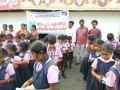 Coronavirus preventive medicine distributed by UARDT at Gowthami English Medium School, Ramachandrapuram on 09-March-2020