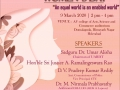 International Women's Day was conducted by UARDT at Hyderabad on 09 March 2020