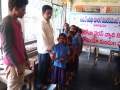 Coronavirus preventive medicine distributed by UARDT at M.P.P.School No-2, Komarru on 09-March-2020