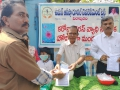 Coronavirus preventive medicine distributed by UARDT at B.S.N.L Office, Visakhapatnam on 10-March-2020