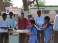 Coronavirus preventive medicine distributed by UARDT at Zilla Parishad High School, Manchili on 10-March-2020