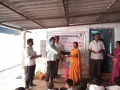 Coronavirus preventive medicine distributed by UARDT at Siddhartha School, Manchili Village on 10-March-2020